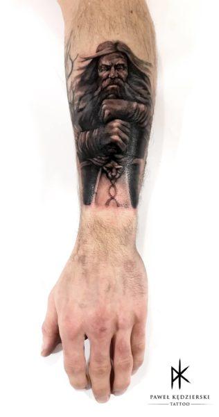 Paweł Kędzierski - jego tatuaż 02