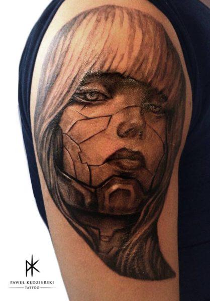 Paweł Kędzierski - jego tatuaż 03